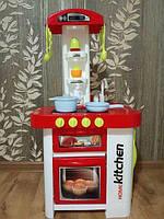 Кухня детская Super Cook (свет, звук, вода) 889-59-60 красная