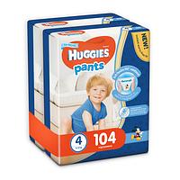 Трусики Huggies Pants для мальчиков 4 (9-15 кг) 2х52 шт., фото 1