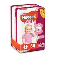 Трусики Huggies Pants для девочек 5 (12-17 кг) 2x44 шт., фото 1