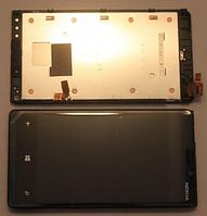 Оригинальный дисплей (модуль) + тачскрин (сенсор) с рамкой для Nokia Lumia 920