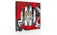 Часы настольные футбольные с будильником FB-1963 (пластик, р-р 12*12см)