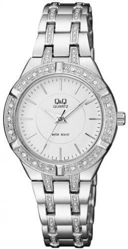 Наручные женские часы Q&Q F557-201Y оригинал