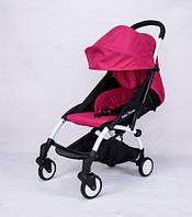 Детская коляска Baby Throne розовый цвет