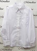 Классическая рубашка для мальчика Монализа SH-01 р.146 белый