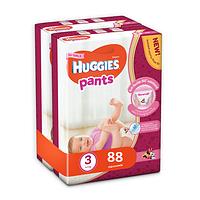 Трусики Huggies Pants для девочек 3 (6-11 кг) 2x44 шт., фото 1