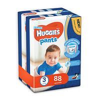 Трусики Huggies Pants для мальчиков 3 (6-11 кг) 2x44 шт., фото 1