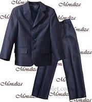 Классический костюм для мальчика Монализа KH-07 р.116 черный