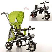 Велосипед детский трехколесный Трансформер - БЕГОВЕЛ Turbo Trike 3212 Турбо трайк 3212 надувные колеса BI