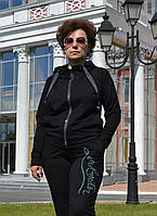 Женский спортивный костюм  из трикотажа; разм 50,52, фото 1