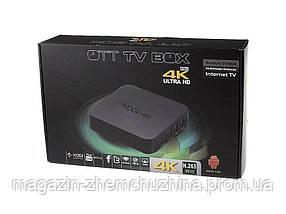 ТВ - приставка SMART TV MXQ 4k Ariplay Bluettoh WiFI, фото 3