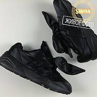 Женские Кроссовки Rihanna x Puma Fenty Bow Sneaker Черные 2e9b05fe32f95