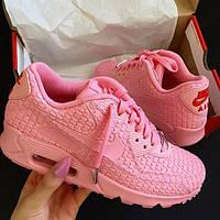 Женские Кроссовки Nike Air Max 90 Shanghai Розовые