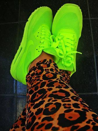 Женские Кроссовки Nike Air Max 90 Hyperfuse Кислотные  продажа, цена ... 27f60ed6ebb