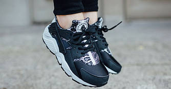 "Женские Кроссовки  Nike Air Huarache Run ""Snakeskin Print"""