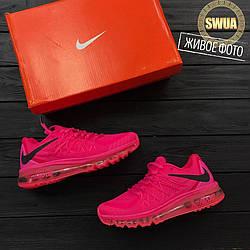 Женские Кроссовки  Nike air max 2015 pink Розовые