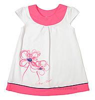 Летнее платье для девочки Фламинго Текстиль 810-417 р.116 белый