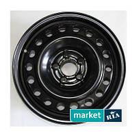 Штампованные (Железные) диски КрКЗ КрКЗ Black (R15 W6 PCD5x108 ET52.5 DIA63.3)