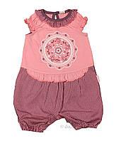 """Песочник для девочки """"Солнышко"""" тм Бэмби PK81 р.62 розовый"""