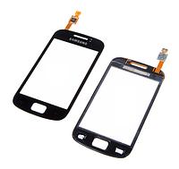 Тачскрин / сенсор (сенсорное стекло) для Samsung Galaxy Mini 2 S6500 (черный цвет)