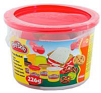 Ведерко пластилина с формочками Пикник, Play-Doh