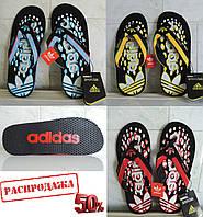 Мужские сланцы (вьетнамки) Adidas (Адидас). Модель 2012 года. Производство Турция (лицензионное производство).