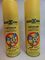 Спрей аэрозоль от комаров Занзара( Zanzara) 100 мл защита 3 часа