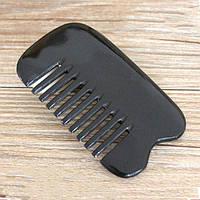 Гребень из кости для волос натуральный