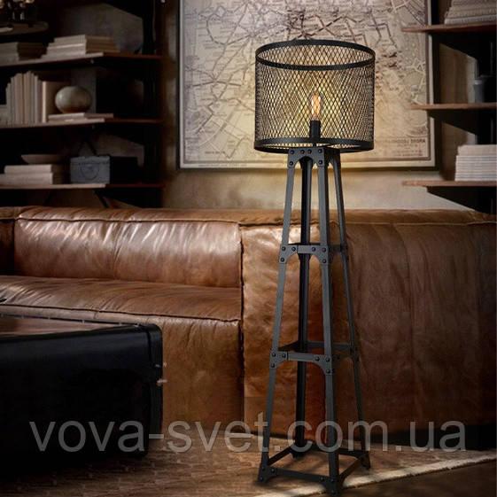 """Напольный светильник Loft Industrial (торшер) [ Gustave 1889 ] - магазин  """" VOVA-свет """" в Виннице"""
