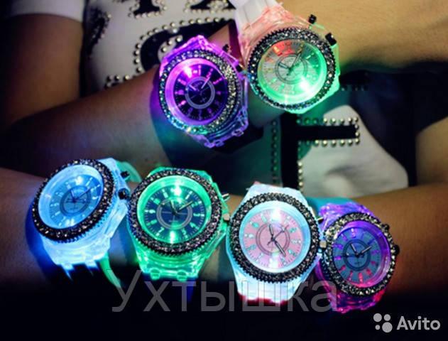 Часы светящиеся купить наручные часы мужские k