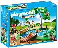 Игровой набор Пруд для рыбалки, Playmobil