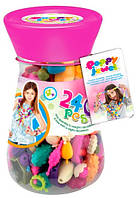 Игрушечный набор для изготовления украшений Poppy Jewel, 240 деталей, Dave Toy