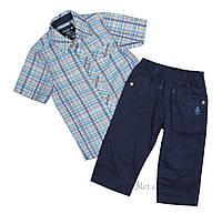 Летний костюм для мальчика тм Бэмби KS425 р.116 синий