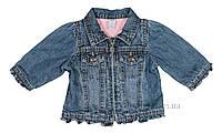 Джинсовая курточка для девочки б/у GAP s_201403 р.68