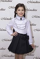 Юбка для девочки Монализа SP-06 р.140 черный