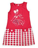 Платье для девочки Фламинго Текстиль 829-421 р.140 красный