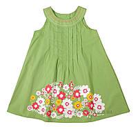 Платье для девочки тм Бэмби PL115 р.110 зеленый