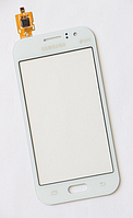 Тачскрин / сенсор (сенсорное стекло) для Samsung Galaxy J1 Ace J110 J110F J110G J110H J110L J110M (белый цвет)