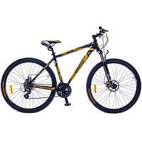 """Велосипед Optima BIGFOOT 29"""" AM Vbr Al черно-желтый 2015"""