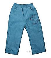 Штаны для мальчика тм Бэмби SHR317 р.80 голубой
