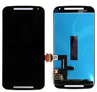 Оригинальный дисплей (модуль) + тачскрин (сенсор) для Motorola Moto G2 XT1063 XT1064 XT1068 XT1069 (черный)