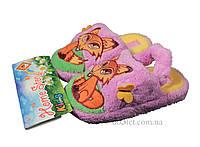 Тапочки для девочки Home Story NK-A1-15756W р.22 сиреневый