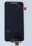 Оригинальный дисплей (модуль) + тачскрин (сенсор) для LG Google Nexus 5X H790   H791   H798 (черный цвет)