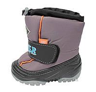 Зимние сапоги для мальчика Demar ICE_SNOW р.26 серый