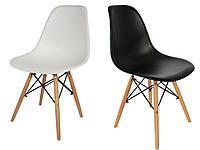 Современный черный, белый стул LUGANO Imperia