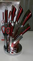 Качественный набор ножей на подставке из Германии Royalty Line RL-KSS804