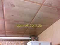 Потолочная плита под дерево 600х600 Ольха светлая, фото 1