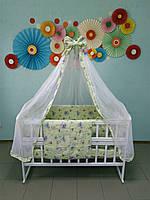 Детское постельное белье в детскую кроватку 9 в 1