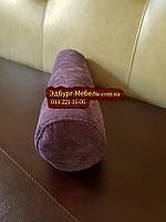 Подушка валик зі знімним чохлом, фото 1