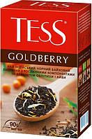 Чай  ТЕСС  черный Голдберри  90гр.