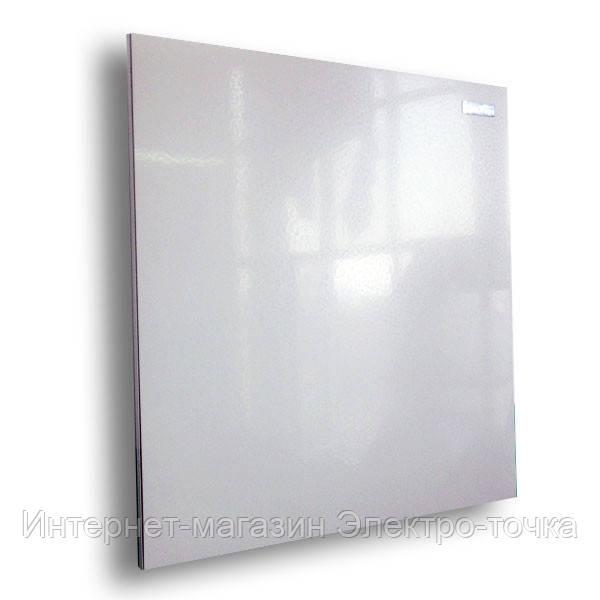 Керамический обогреватель панель инфракрасный КАМ-ИН белый с терморегулятором, 475 Вт